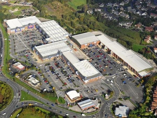 Elk Mill Retail Park Lighting Scheme