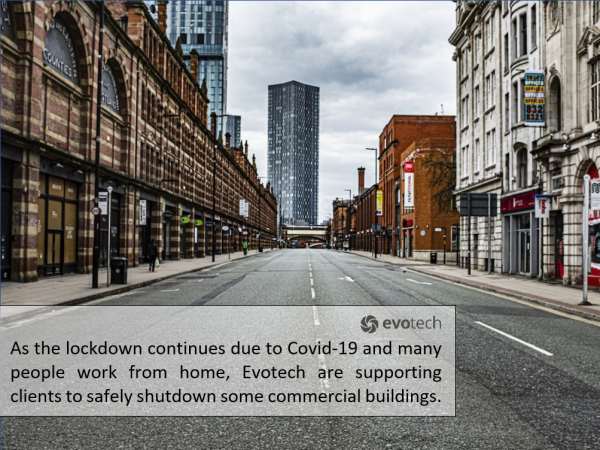 BESA guidelines on safe shutdown of commercial buildings