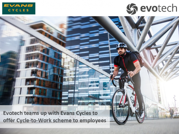 Evotech Cycle to Work Scheme